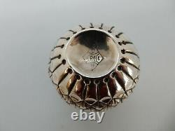 Scottish Victorian Solid Silver Newty Thistle Tot Cup, Edimbourg 1884 24g
