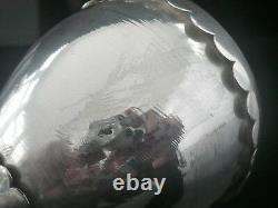Silver Goblet Emu Egg Base, Londres 1880, Jane Brownett Et Alexander Jones