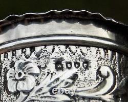 Superbe Victorian Daniel & John Wellby Solid Silver Pictorial Table Snuff Box
