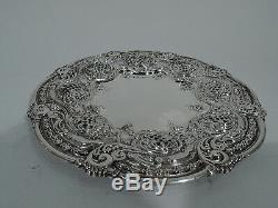 Tiffany Bowl Plate 11330 11326 Timbre De La Foire Mondiale De Chicago En Argent Sterling