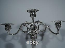 Tiffany Candelabra 12249 Chandeliers Antiques American Sterling Silver