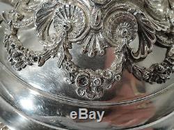 Trophée Victorien Coupe Équestre De Chevaux Antiques En Argent Sterling 1883
