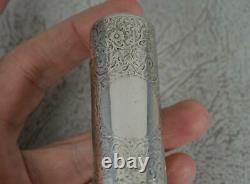 Victorian Anglais Sterling Silver Scent Bouteille