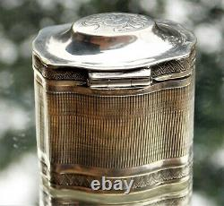 Victorian Duutch Paulus Riddersma Cabboes Solide Solide Loderein Doosje Scent Box