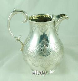 Victorian Silver Tea Set Barnards Londres 1840 1187g Fzx