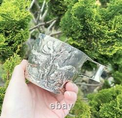 Victorian Sterling Silver Cup Vapheio Large Antiquité Chester 1899 Heavy 298g