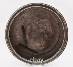 Victorian Sterling Silver Tobacco / Biscuit Jar Londres 1891