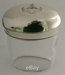 Victorienne Knights En Argent Massif Ou Maccabées Antique Jar Ou Caddy 1888 Asprey